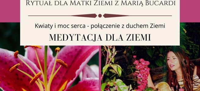27 Rytual dla Matki Ziemi medytacja z Maria Bucardi