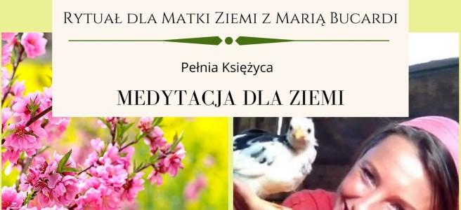 96-Rytual-dla-Matki-Ziemi-Maria-Bucardi- medytacja, pomoc dla Ziemi, ekologia